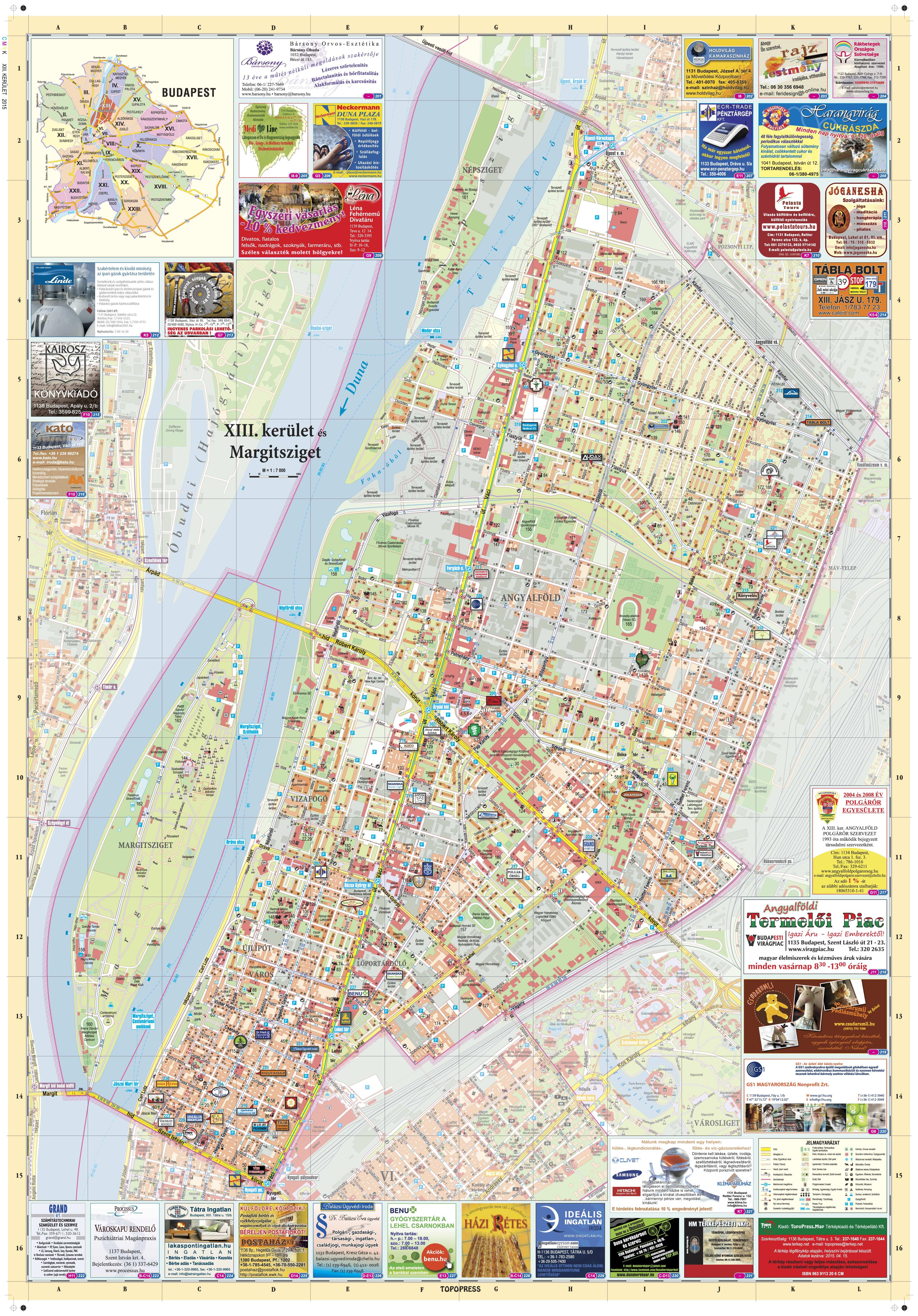 budapest xiii térkép TÉRKÉP, várostérkép, kerülettérkép, horgásztérkép, cégkereső budapest xiii térkép