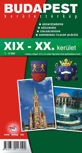 Budapest Xix Xx Kerulet Terkep