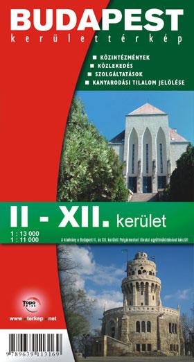 Budapest Ii Xii Kerulet Terkep